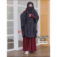 SUPLY French Khimar Cardi