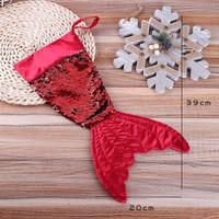 Kaos Kaki Gantung Motif Mermaid Ukuran 16 Inci untuk Hadiah Natal