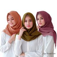Hijabwanitacantik - Segitiga Instan Kyla Voal Hijab Instan Jilbab Inst