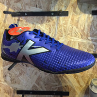SHZuhaira sepatu futsal KELME star evo royal blue silver original new