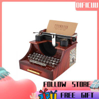 Kotak Musik Vintage Typewriter Untuk Dekorasi Rumah/Kantor/Ruang