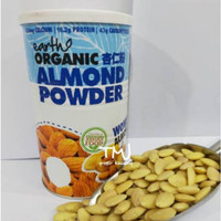 EARTH LIVING ORGANIC ALMOND POWDER 500gr