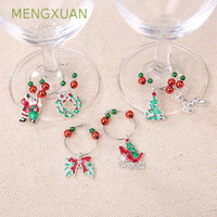 MENGXUAN Xmas tree Goblet s ristmas Cup ring