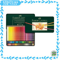 of Castell Pencils Pensil Warna Tin Polychromos Color Faber 120