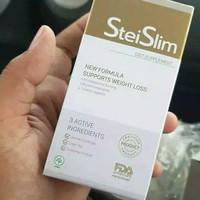 steislim asli obat pelangsing/diet badan herbal ampuh stei slim/stai