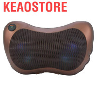 Electronic Massage Pillow Deep Kneading Massager Cushion Lumbar N U127