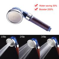 Perlengkapan Rumah Kepala Shower Mineral Ionic Handheld 3 Fungsi de 6l