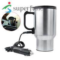 450ml Car Kettle Electric Water Kettle Portable Stainless Steel Cup