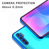 Max ID Bakeey for Xiaomi Mi Note 10 Lite Case 2 in 1 Plating Lens P