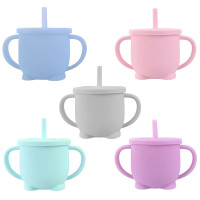Kids Drinkware Cup Drinking Silicone Learning - Toddler silicone Sippy