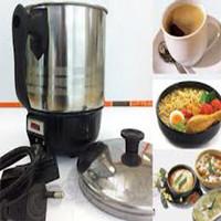 Murah MUG/ Teko Listrik STAINLESS Q2 15 cm/ Pemanas Air/ Heater