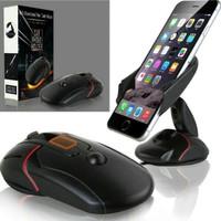 Perlengkapan gadget handphone terbaru Holder bentuk Mouse Car Phone