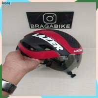 Lazer BULLET 2.0 MIPS Helmet Black red Helm Sepeda