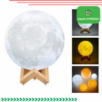 moon globe light/3D Moon Globe Lampu Hias Meja LED/Lampu Hias Bulan
