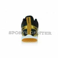 Sepatu Badminton Lining Omega AYTM 087 AYTM 087 Black Gold FSH perk