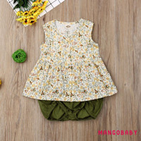 ♬MG♪-Toddler Kids Baby Girl Outfit Clothes T-shirt Tops Tutu