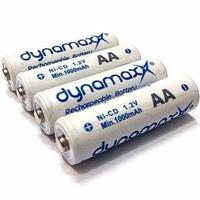 Dynamax AA 1000 mah baterai cas / batrei chargerable 1,2V