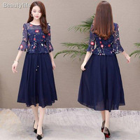 ❁Plus size women s clothing 2020 summer new style fat sister