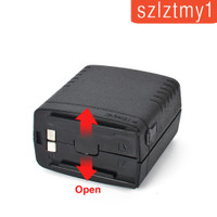 6AA Radio Battery Pack Case Box for ICOM BP-99 IC-V68 IC-W21A IC-W1