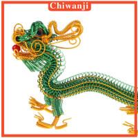 Miniatur Naga ina Warna Hijau Untuk Dekorasi Meja Rumah