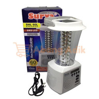 Surya SHL 60L Speaker Lampu Emergency Lamp LED USB Radio Cas Solar