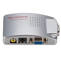 Cre Adapter Konverter Video Vga Ke Rca Untuk Pc Ke Tv Av Monitor