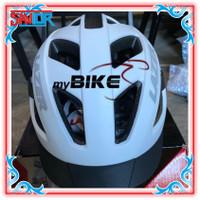 Lazer Cameleon Helmet gravel Matte white Grey size M 55-59cm