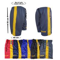 Celana pendek kolor santai olahraga badminton training bokser sepeda