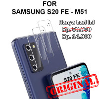 Samsung S20 FE - M51 anti gores pelindung kamera CAMERA TEMPERED GLASS