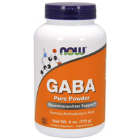 NOW FOODS GABA PURE POWDER 6 OZ 170 G
