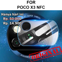 Xiaomi Poco X3 NFC anti gores pelindung kamera CAMERA TEMPERED GLASS