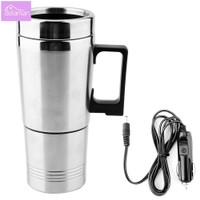 350ML 150ML Stainless Steel Car Electric Kettle Coffee Tea Thermo L209