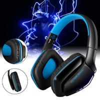 Headset Gaming Wireless Bluetooth dengan Mic