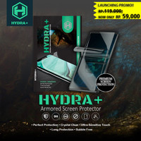 HYDRA+ Sharp Aquos R SHV39 - Anti Gores Hydrogel - Tempered Glass Full