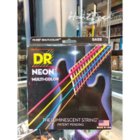 DR Strings K3 Neon Hi Def Multi Color Bass NMCB 40 100 Senar Bass