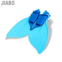 Jiabo Sepatu/Kaki Katak Diving Bentuk Ekor Mermaid untuk Kostum