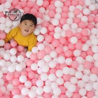 100pcs Bola Plastik Lembut Untuk Mainan Kolam Renang Bayi/Anak
