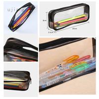 Ujiang .id pvc zipper bag custom made PVC pencil case stationery bag