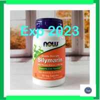 NOW FOODS FOOD SILYMARIN MILK THISTLE 300 MG 50 SUPPORT LIVER