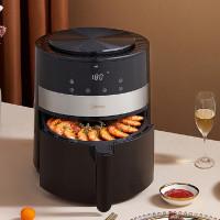 Home Midea MFKZ45E01 Air Fryer 4.5L Large Capacity 1350W Electric Hot