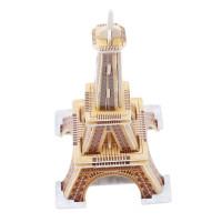 Puzzle Kayu 3d Model Istana Bangunan Untuk Edukasi/Perkembangan