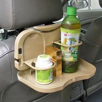 Car Multifunction Foldable Seat Back Meal Table Meja Lipat Mobil -LK11