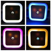 Lampu Tidur LED Sensor Cahaya EU Plug -DA55