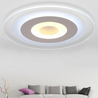 WONDERFULL Lampu Plafon Led Wifi Stepless Dimming Desain Modern Bahan
