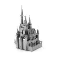 Mainan Edukasi Puzzle 3d Model Istana tasi Bahan Metal Untuk Anak