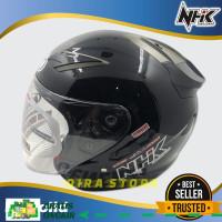 helm half face/Helm NHK Motor SNI HalfFace Helem Dewasa Double Visor11
