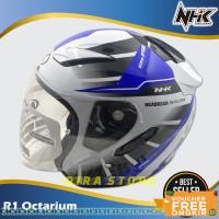 helm half face/Helm NHK Motor SNI Half Face Helem Dewasa Double Visor3