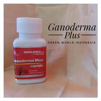 Promo Ganoderma Plus Capsule Green World/Obat Kanker Asli Murah