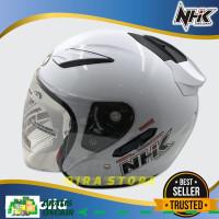 helm nhk/Helm NHK Motor SNI Half Face Helem Dewasa Double Visor 15
