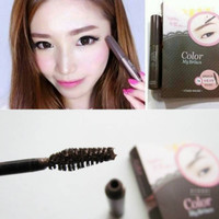 STS Etude House color my brows 01 rich brown